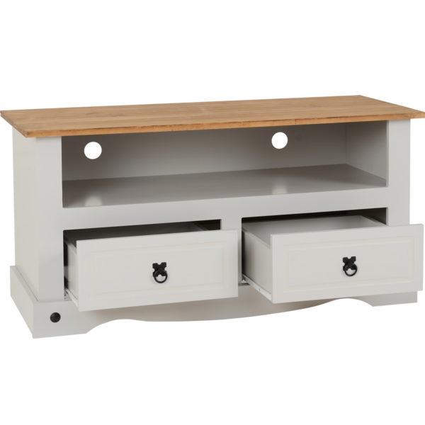 BBS640  Corona TV stand in Grey
