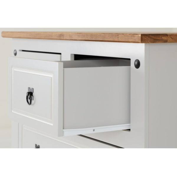 BBS897  CORONA two and two DRAWER CHEST